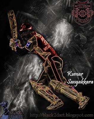 Kumar Sangakkara Kings Eleven Punjab (IPL 2010)