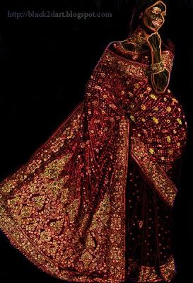 Designer Work Saree with Rich Pallu