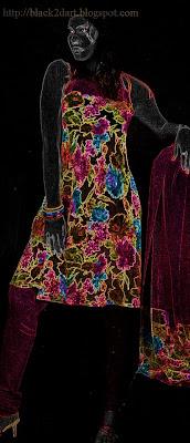 floral printed churidar dress indian dress