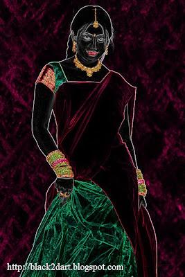 Pawadai dawani dress