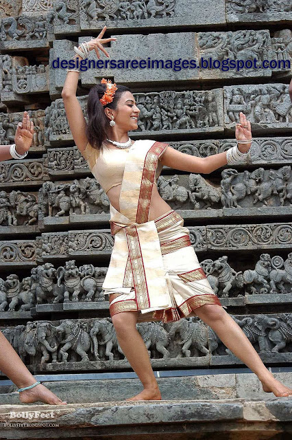 Tollywood Actress Aditi Sharma in Traditional Saree stills
