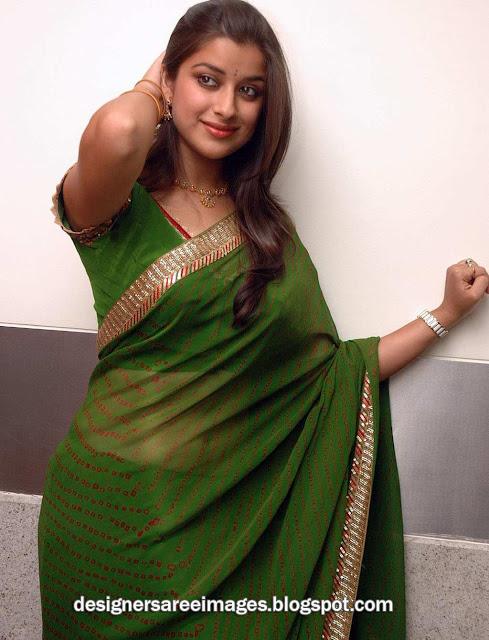 Tamil Actress Madhurima in Green Saree Photos