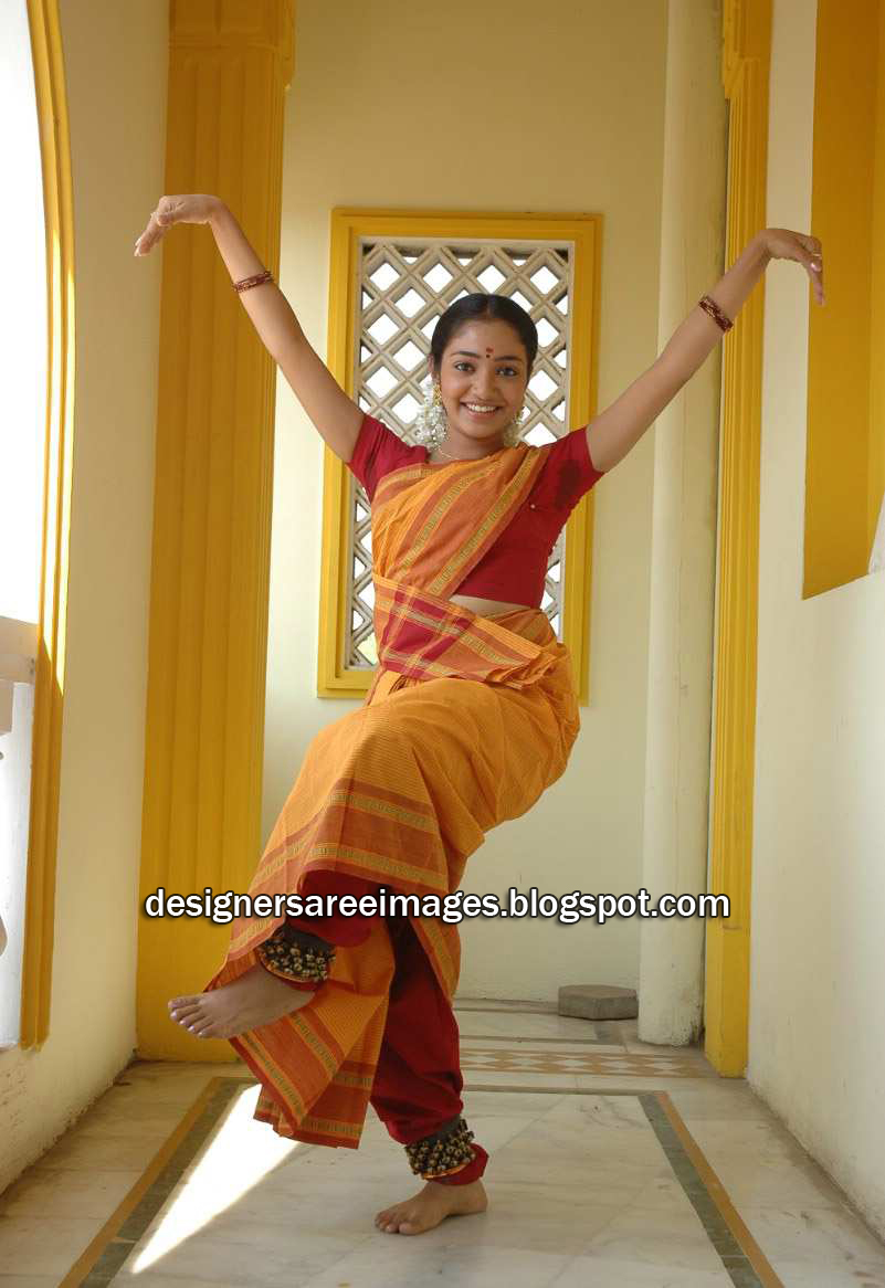 Kollywood Actress Maya Unni in Yellow Cotton Saree