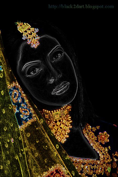 Indian Model in Designer Bridal Jewellery