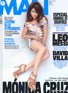 Hot Monica Cruz man Magazine Scans