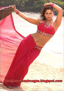 Actress Farzana Hot Saree Blouse Pictures