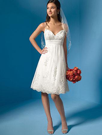 Wedding: Simple Short Wedding Dresses