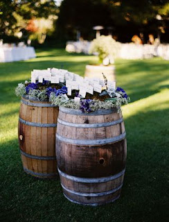 Wine themed wedding toledo wedding planner perrysburg wedding one of our clients is looking to do a wine themed wedding here are a few ideas we have planned for their wedding use wine barrels as place card holders altavistaventures Gallery