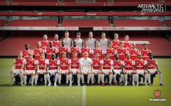 Arsenal First Team Squad 10/11
