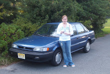 Samantha's first car--She decided two months later to