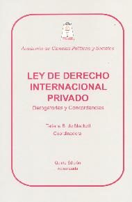 Ley de Derecho Internacional Privado