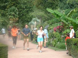 Faire son jogging au parc de la tête d'or