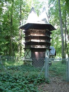 Une structure dont certains indices laissent penser qu'il sagit d'un pigeonnier