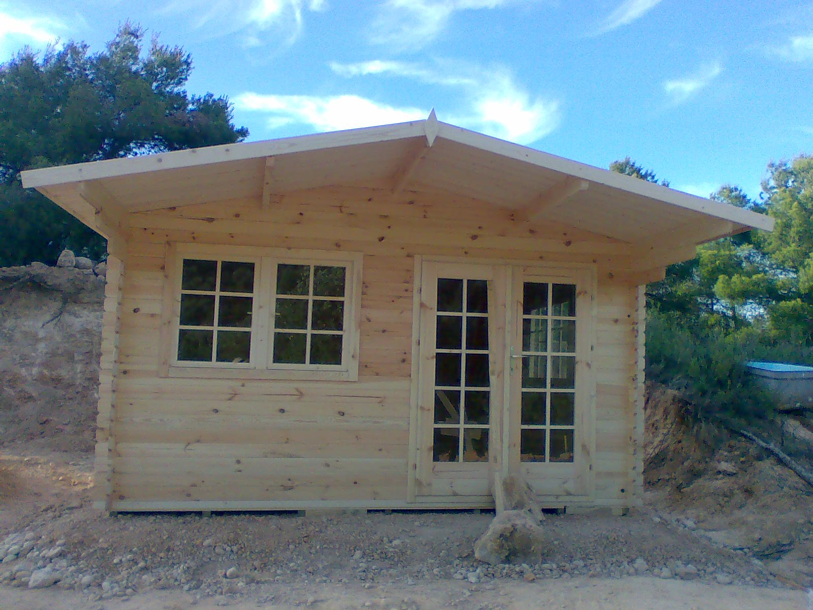 Aventuras en la palma d ebre la casita de madera - La casita de madera ...