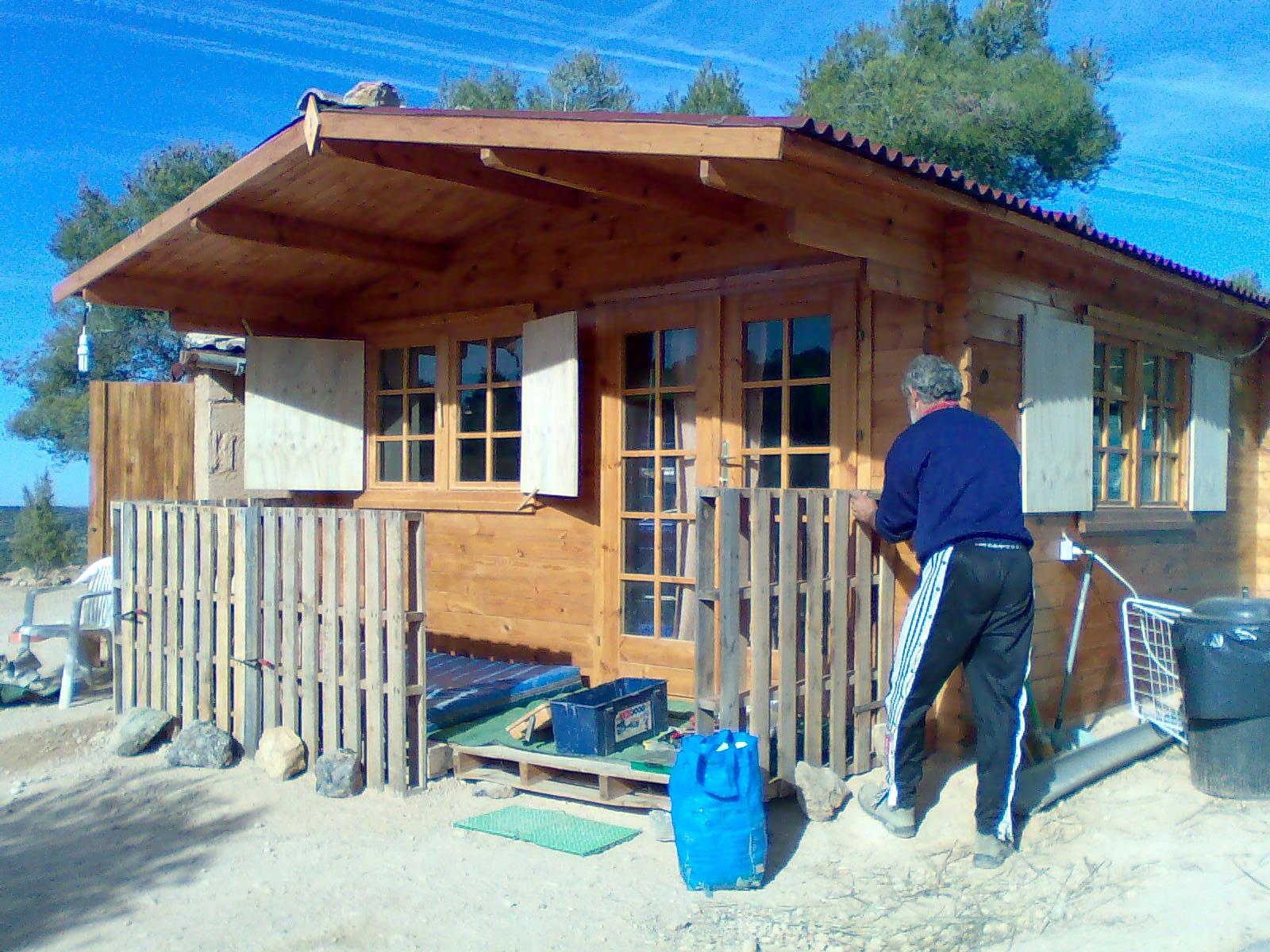 Aventuras en la palma d ebre trabajos con madera - La casa de madera ...
