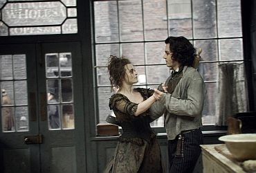 Sweeney Todd e MRS Lovett's
