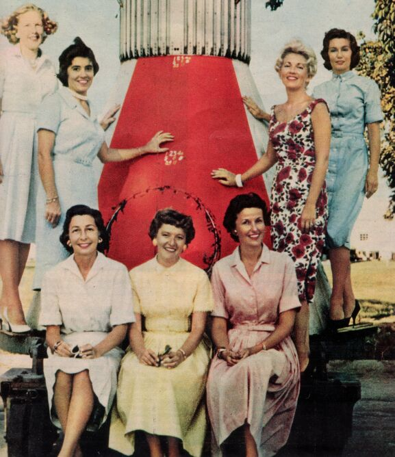 first seven astronaut wives - photo #7