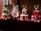 Red White Bama Themed items sold
