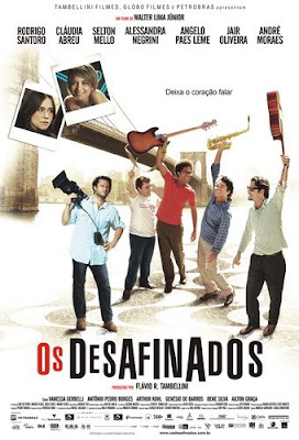 Capa Download   Os Desafinados   HDTV AVI + RMVB Nacional Poster