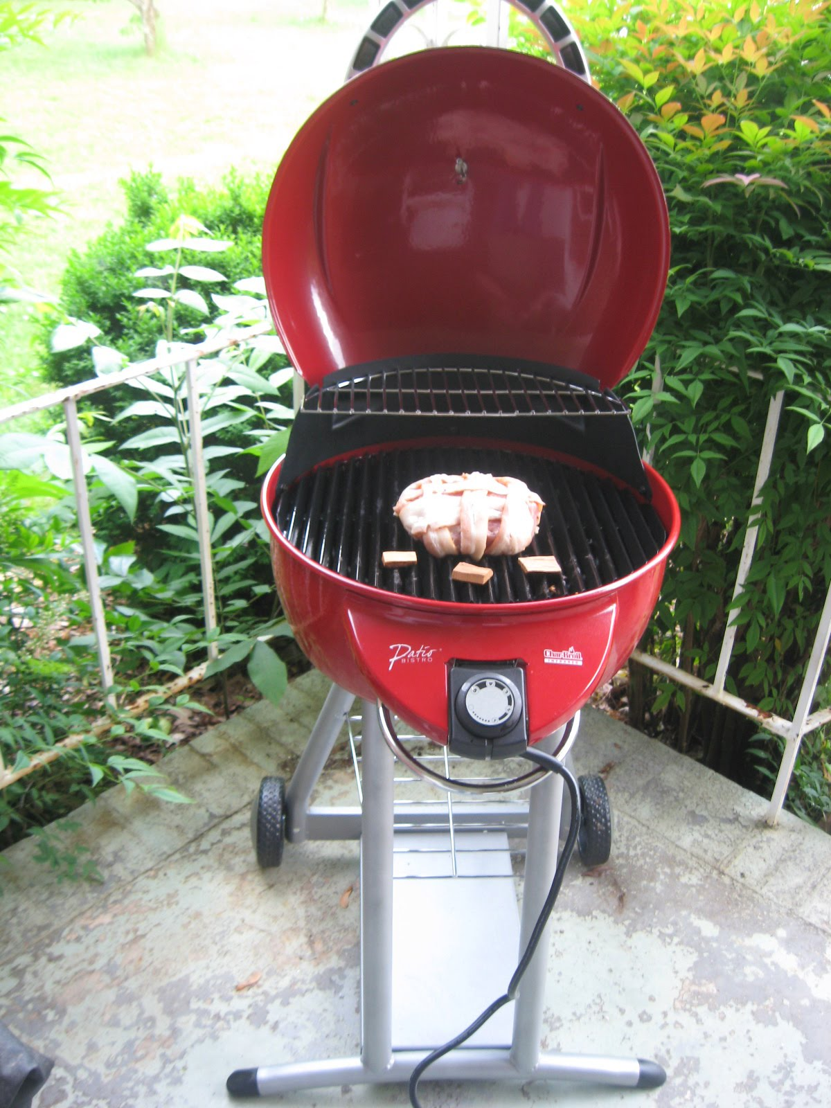 Lovely Amazoncom CharBroil TRUInfrared Patio Bistro Electric Grill. Barbecue  Master Bacon Weave Pork Loin On Electric Patio Bistro By