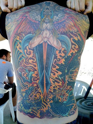 Back Tattoos For Men