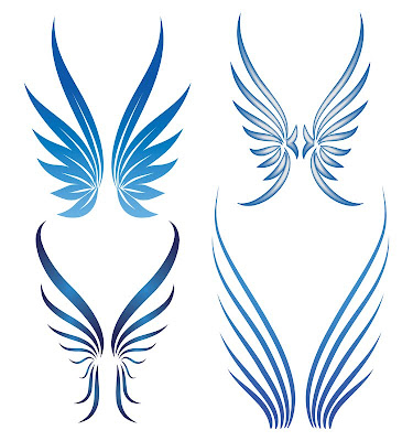 Wings Tattoos on Famous Tattoo Celebrity  Angel Wing Tattoos