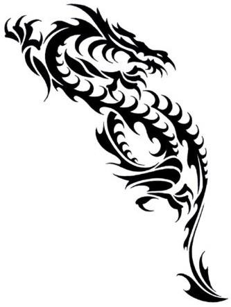 dragon tattoos