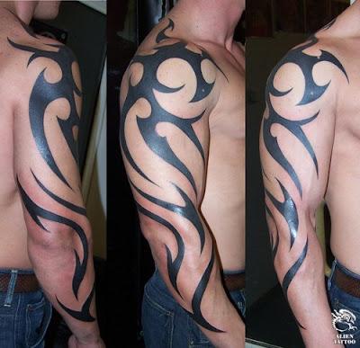 tribal dragon tattoos for men. dragon tattoos for men on arm.