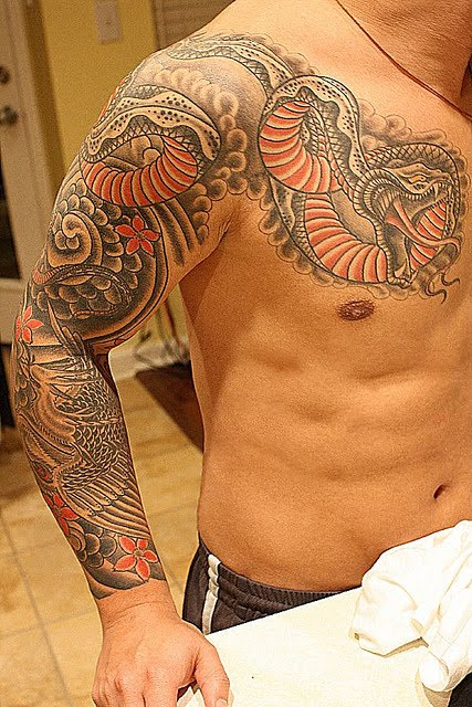 Snake Tattoos for Men Pictures