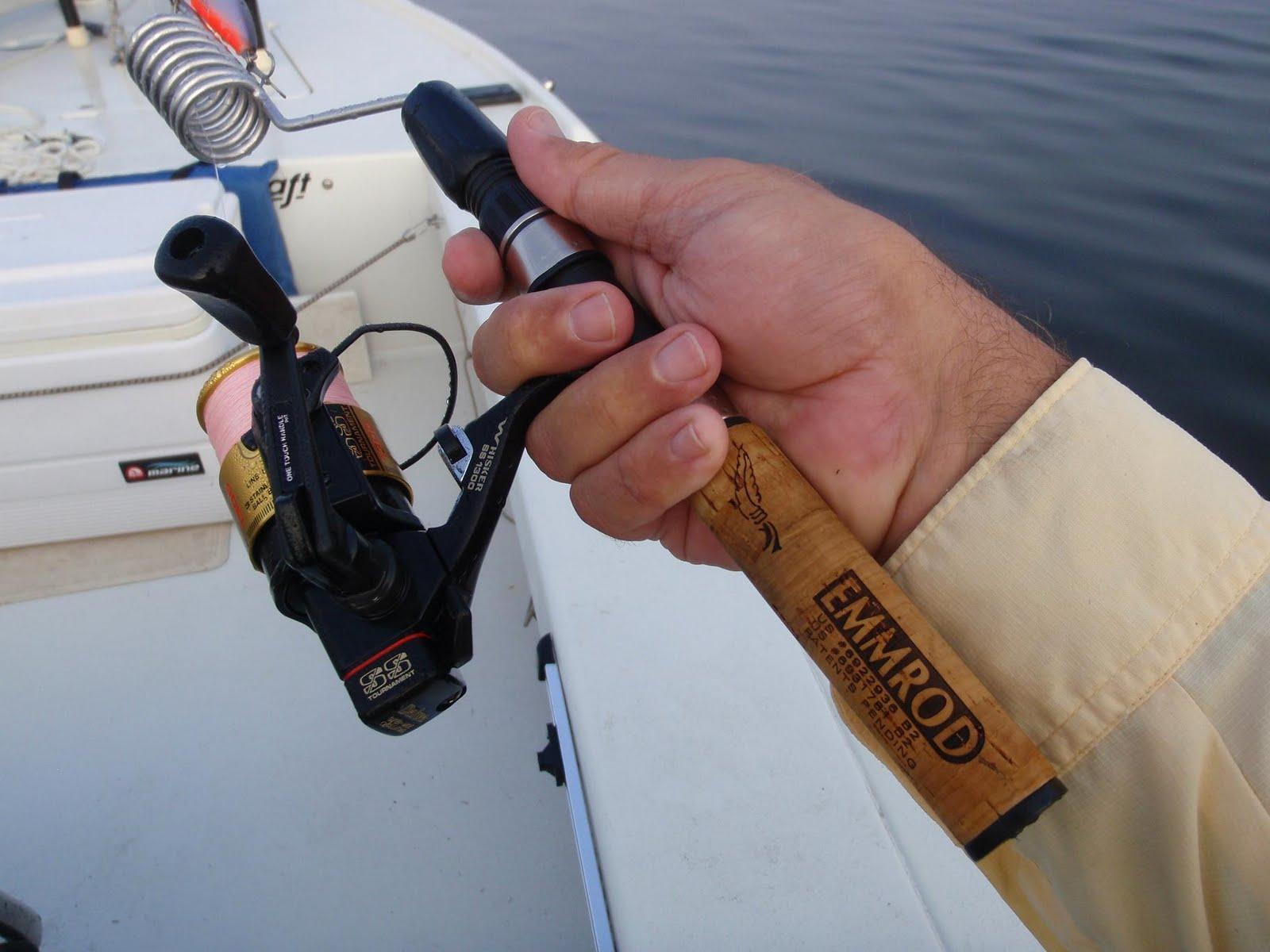 Jeff S Tackle Box Kayak Fishing Emmrod Spinning Rod