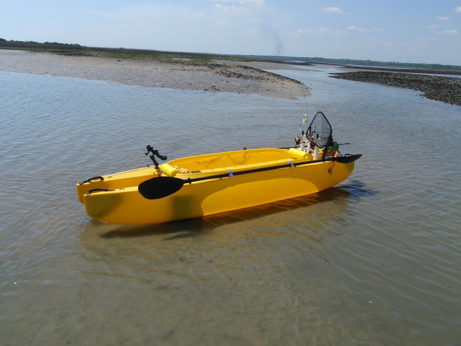 Jeff 39 s tackle box low tide shot of the world 39 s best for Good fishing kayaks