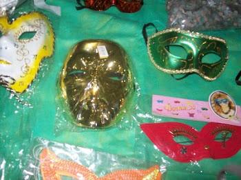 Máscaras de acrílico