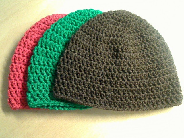 How To Crochet A Beanie : How To Crochet A Beanie For Beginners This is a pretty simple beanie