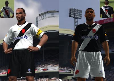times da série A e alguns da Série B no pes 2011 Vasco+da+Gama