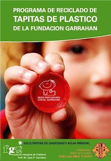 JUNTA TAPITAS DE PLASTICO Y LLEVALAS AL GARRAHAN