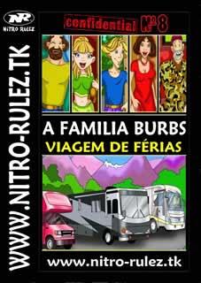 A Familia Burbs - Viagem De Férias