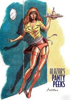 ALAZAR'S PANTY PEEK