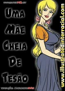UMA MAE CHEIA DE TESAO