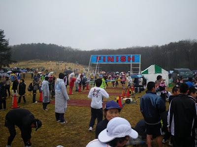 5kmの部(?)ゴール