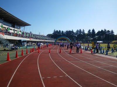 ハーフマラソンゴール