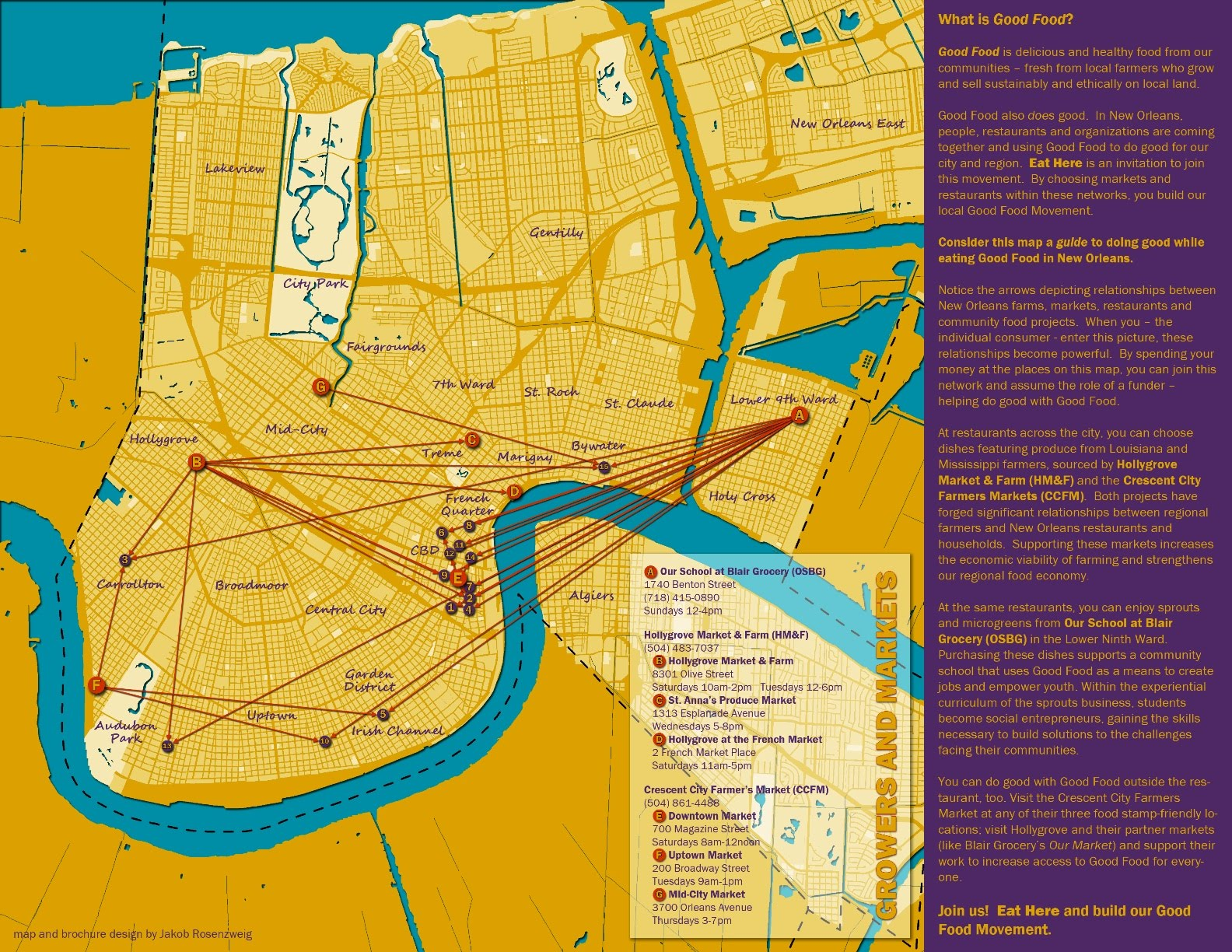 eat here a good food guide to new orleans