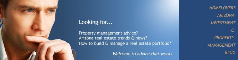 Arizona Investment Property blog by HomeLovers