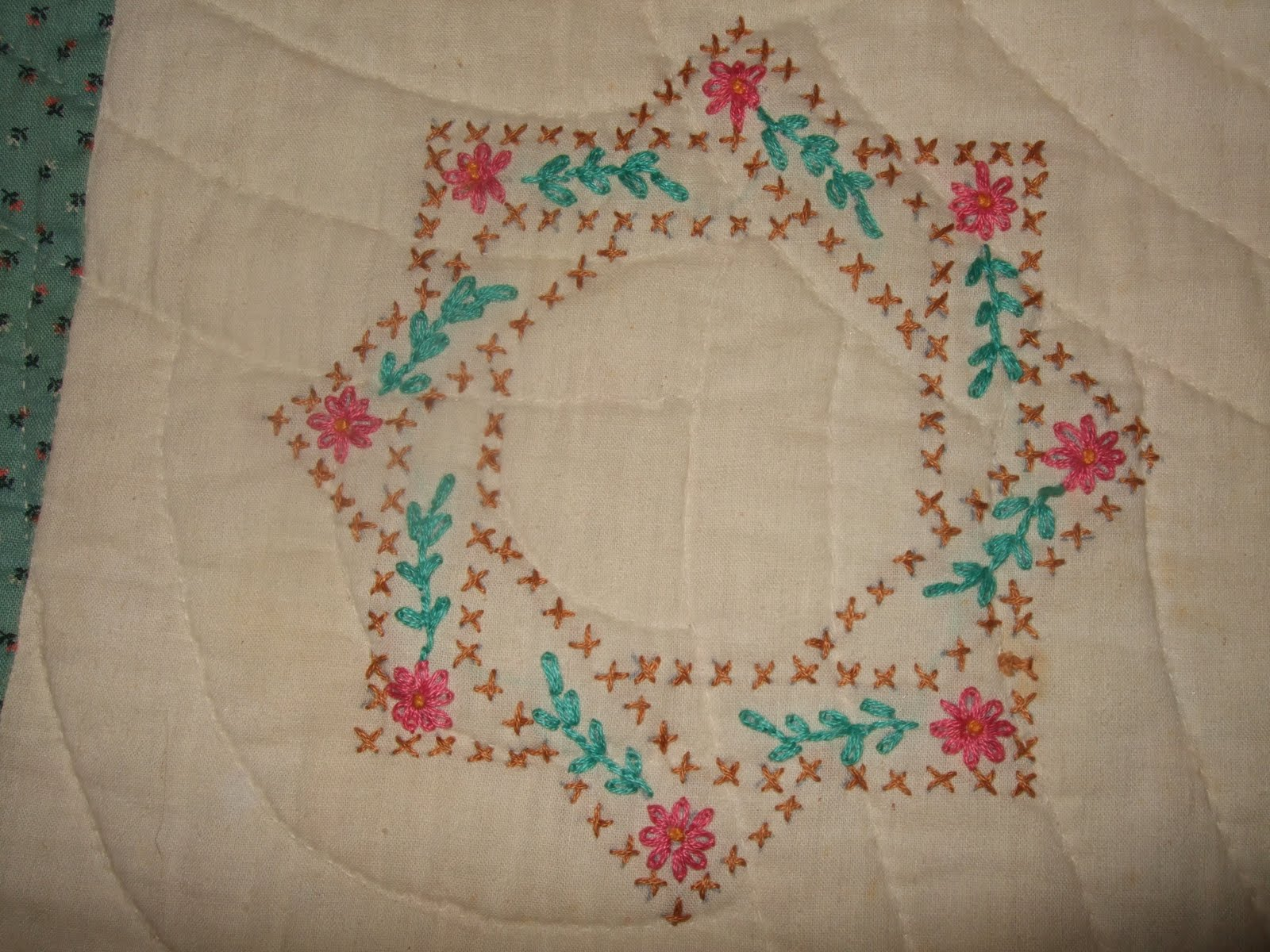 Quilt Patterns Cross Stitch : O Quilts: Cross stitch baby quilt
