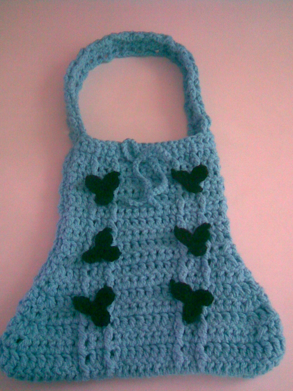 cartera tejida en crochet