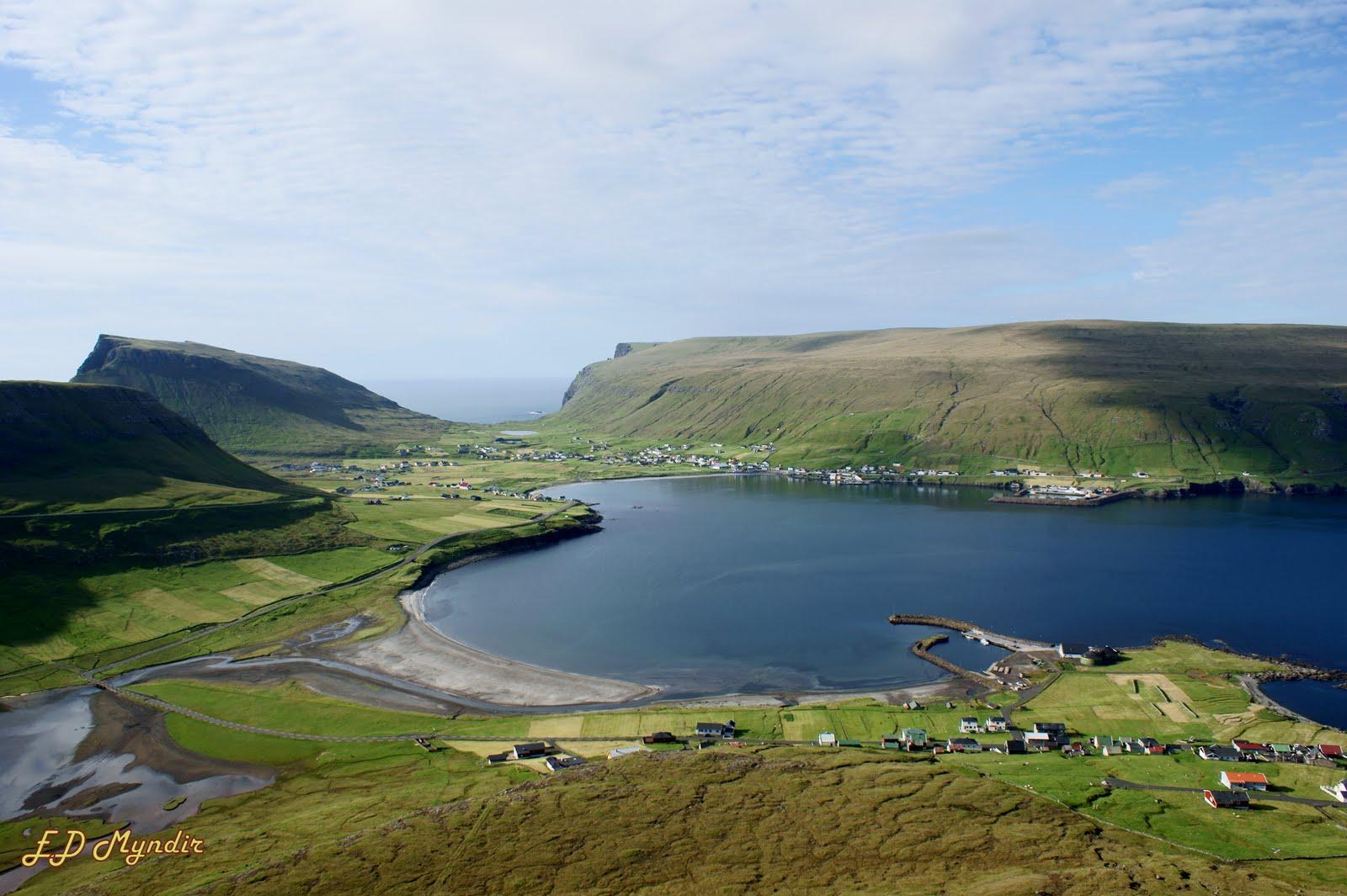 Saksun, një fshat i nxjerrë nga përrallat! Hvalba+-+Faroe+Islands