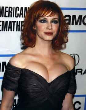 CHRISTINA HENDRICKS PICTURES PART 1