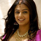Priyamani in Pink Silk Dress Cute Photos