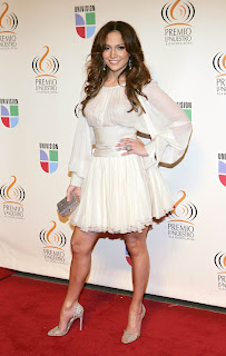 Jennifer Lopez in Latin Music Awards