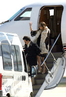 Jennifer Lopez at Airport in Spain