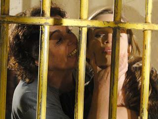 Passione Clara na prisão